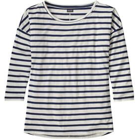 Patagonia Shallow Seas t-shirt Dames wit/zwart